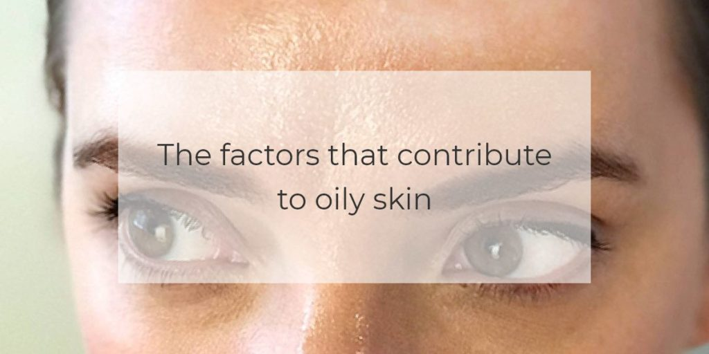 The factors that contribute to oily skin